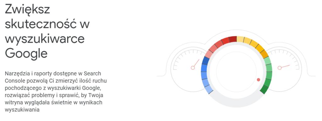 Google Search Console - narzędzie SEO od Google